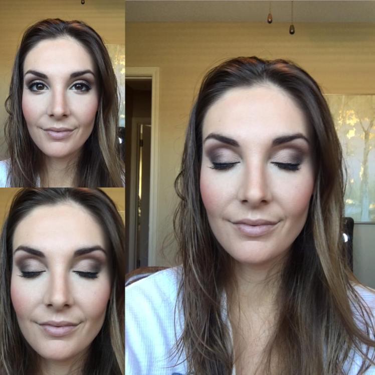 Selfie Makeup 3 pics